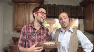 Holiday Caramel Pecan Pie: Vegan Raw Food Recipe