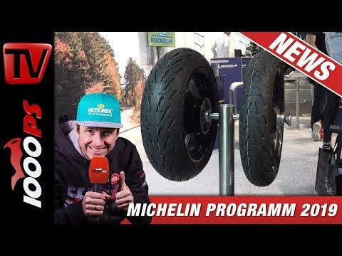 Motorradreifen für Reiseenduros - Stollen, Strassen oder Universaltalent - Michelin Programm 2019