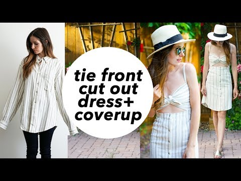diy-tie-front-cut-out-dress-or-swim-cover-up-refashion
