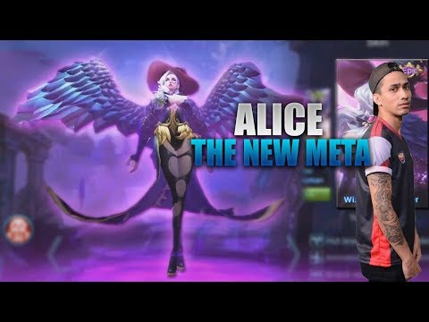 ALICE IS THE NEW META - MOBILE LEGENDS - 1000 DIAMONDS GIVEAWAY - GAMEPLAY - RANK