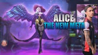 ALICE IS THE NEW META - MOBILE LEGENDS - 1000 DIAMONDS GIVEAWAY - GAMEPLAY - RANK