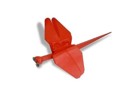 Cách gấp, xếp con chuồn chuồn ớt bằng giấy origami - Video hướng dẫn