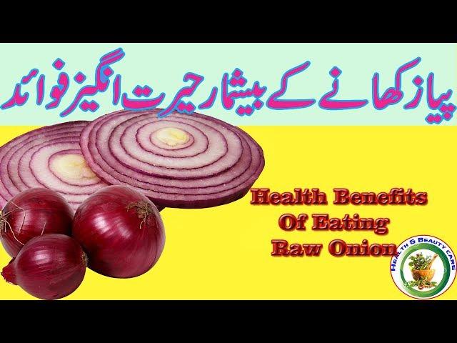 13 Magical Health Benefits Of Eating Raw Onion   Peyaz Khane