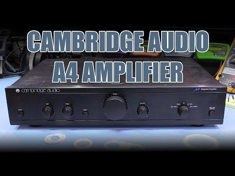 SDGEE #022 Cambridge Audio A4 Amplifier Modifications