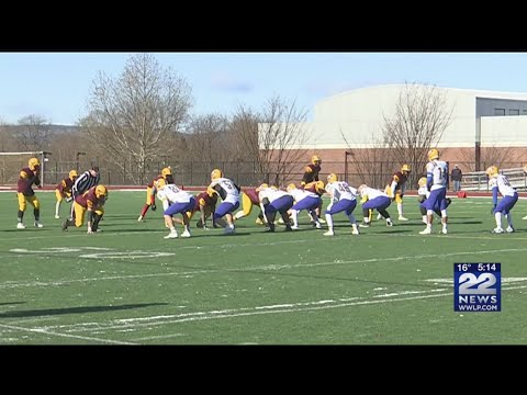 Chicopee Comp Defeats Chicopee High In Thanksgiving Day Game