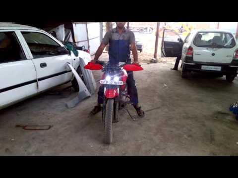 Pulsar 135 change modify bike