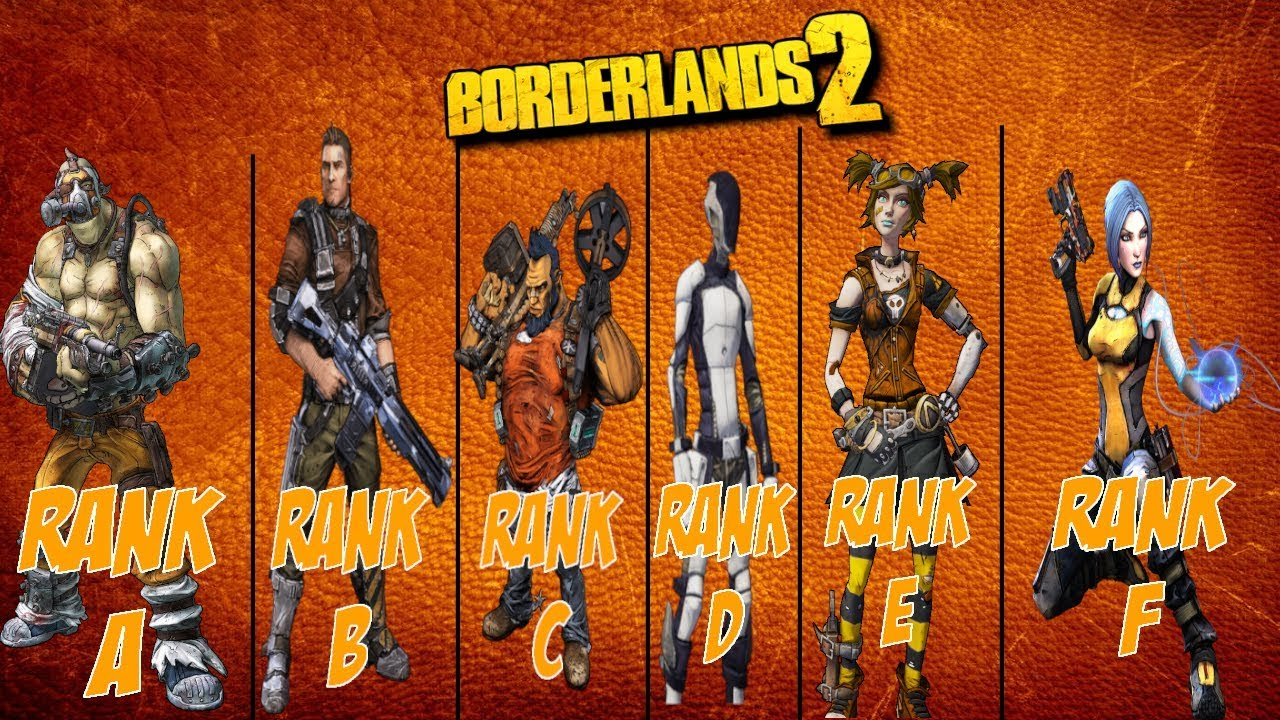 Borderlands 2 Classes Ranked and Abilities