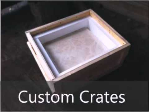Fine Art Custom Crating & Shipping by AAdelivery