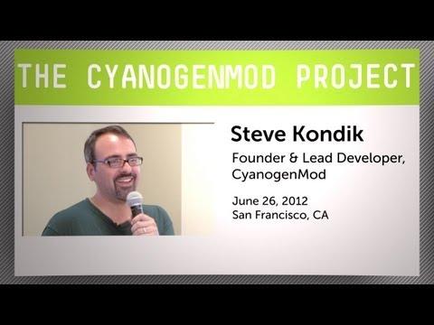 Steve Kondik on the CyanogenMod Project