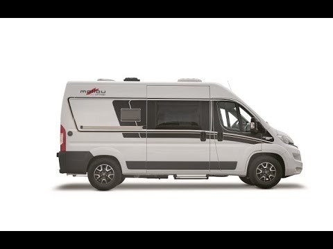 Campervan review of the Malibu 540 with a low bed (UK spec')