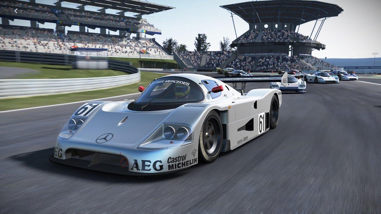 project cars sauber mercedes c9 nurburgring race youtube. Black Bedroom Furniture Sets. Home Design Ideas
