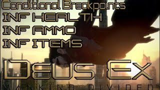 Today we take a look at the ever popular Deus Ex series with the latest entry Mankind Divided We get in to hacking Inf health Inf Ammo Inf Energy Inf Items