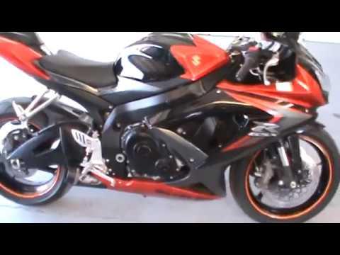 08 Suzuki GSX-R 750 orange/black FOR SALE by owner!