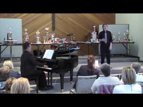 Coquitlam District Music Festival, Jeffrey Wallace