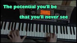 Elliott Smith - Between the Bars Piano Cover (with Lyrics)
