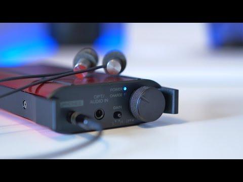 TEAC HA-P50 Portable Headphone Amplifier/USB DAC Review (4K)
