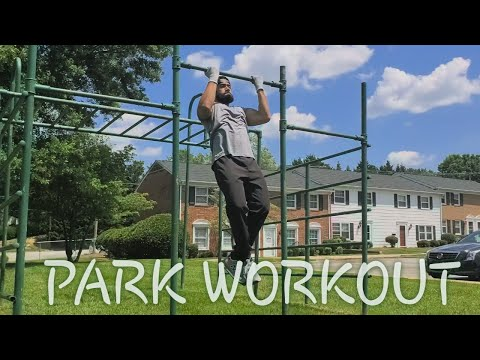 Total Body Workout at the park