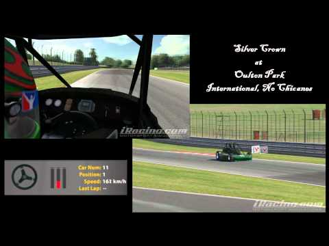 Silver Crown lap of Oulton Park - iRacing