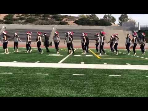 Mission Early College High School Dance Class Hip-Hop routine| Santa Clause is Coming to Town by B2K