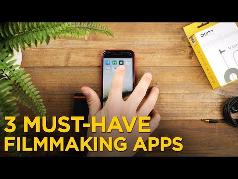 3 Must-Have Filmmaking Apps!