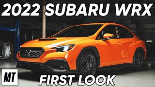 homepage tile video photo for 2022 Subaru WRX: First Look | MotorTrend
