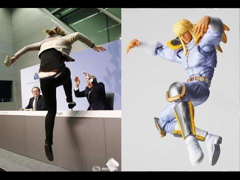 【画像】ECBドラギ総裁会見に乱入した女が「南斗水鳥拳」使いだと話題に 【へ~となるニュース】