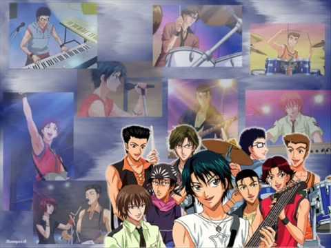 Prince of tennis rock 54 karaoke *no Vocals*