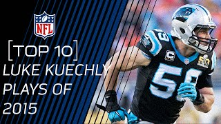 Top 10 Luke Kuechly Plays of 2015 | #TopTenTuesdays | NFL