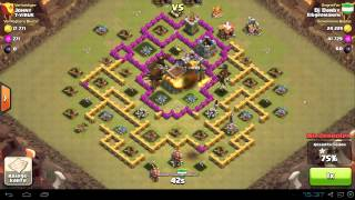 Clash of Clans Clanwar (Angriff 2)