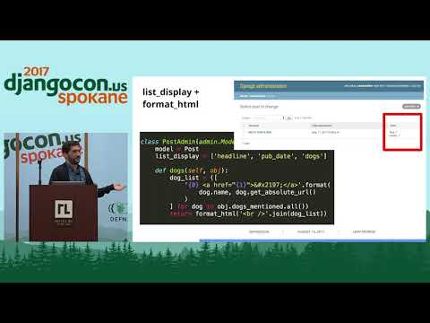 DjangoCon US 2017 - Saved you a click (or three)... by Liam