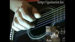 Вид боя № 1 (Уроки игры на гитаре Guitarist.kz)