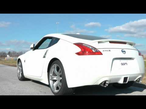 370Z Exhaust : AAM Competition S-Line Short Tail Exhaust Sound