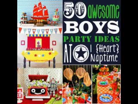 easy diy birthday party decoration ideas for boys youtube