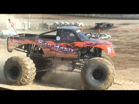 Monster trucks crashes and carnage