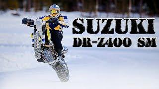 по Зимнему Бездорожью на Supermoto. Suzuki DR-Z400 SM