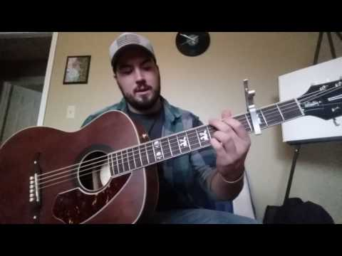 """How to play """"Soulshine"""" by Warren Haynes (acoustic)"""