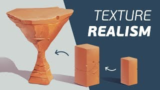 How to Paint Better Textures (Painting Little Touches of Realism)
