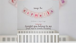 Gambar cover Christina Perri - Tonight You Belong To Me (ft. Paul & Carmella Costabile) (Letra/Lyrics)