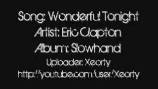 Eric Clapton Wonderful Tonight Lyrics.mp3