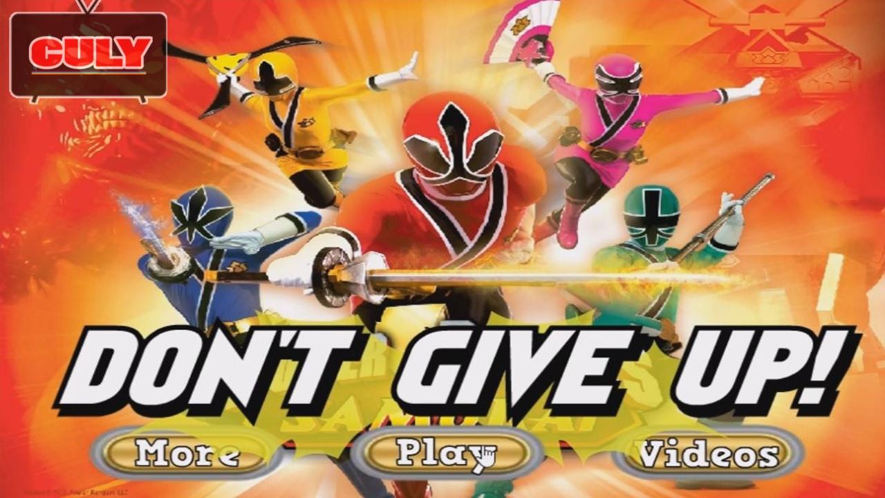 chơi Siêu nhân thần kiếm đi cảnh đánh trùm – cu lỳ chơi game power rangers samurai shinkenger