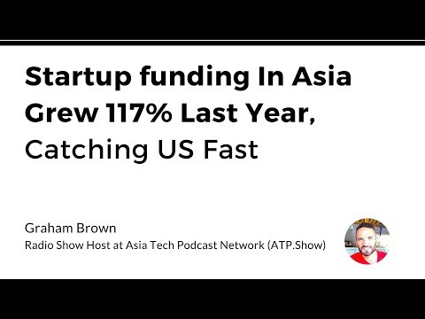 Startup funding In Asia Grew 117% Last Year, Catching US Fast-Graham Brown
