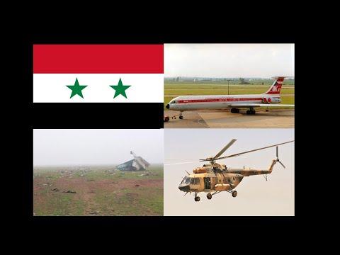 Top Ten Deadliest Air Crashes of Syria