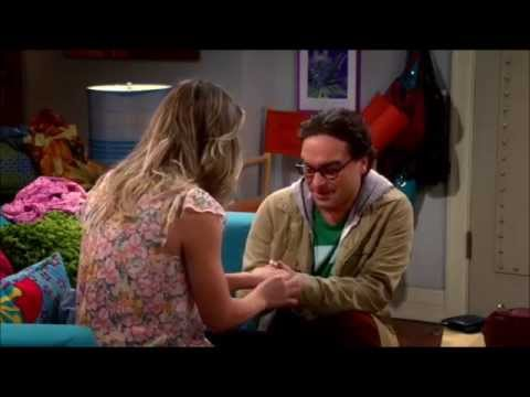 what episode do penny and leonard get engaged