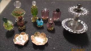 Create Miniature Perfume Bottles Tutorial -  jennings644