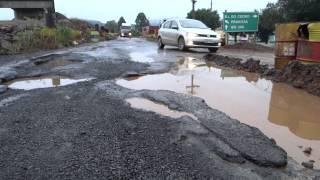 BR-163 enfrenta péssimas condições de tráfego em São José do Cedro