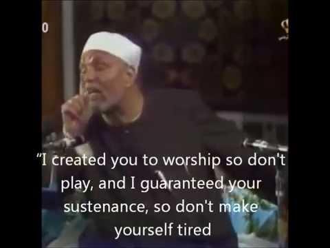Sheikh ASha'rawi - Sustenance -  الامام الشعراوى