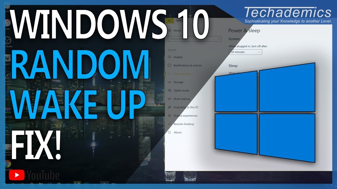 How To Stop PC Waking Up After Sleep Mode Windows 10