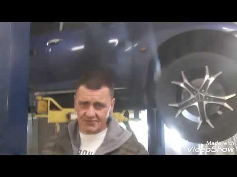 Chrysler PT Cruiser - ремонт глушителя. Ремонт глушителей в СПб