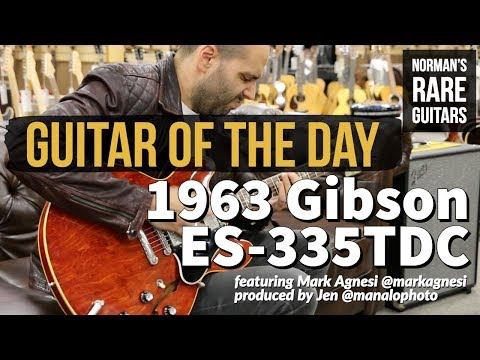Guitar of the Day: 1963 Gibson ES-335TDC | Norman's Rare Guitars