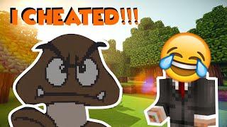 Minecraft - Build Battle, But I Cheated!!! | FOXFIGHTER9000